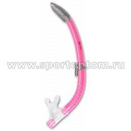 Трубка  для плавания  INDIGO детская  (ПВХ, маскодержатель) IN064 Розовый