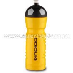 Бутылка для воды INDIGO SELIGER IN143 790 мл Лимонно-черный