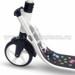 Самокат взрослый INDIGO BUTTERFLY IN050 Белый (3)