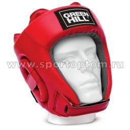 Шлем боксёрский Green Hill TRAINING PU HGT-9411 L Красный