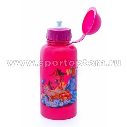 Вело Фляга детская с защитой от пыли Принцесса  03 VSB 500 мл Розовый