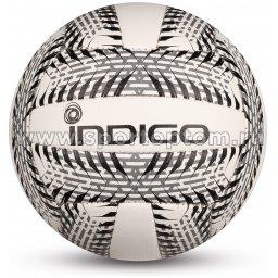 Мяч волейбольный INDIGO SURF любительский шитый (PVC Foamitex 2,5 мм) IN159 Бело-черный