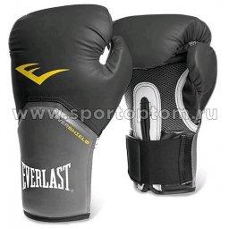 Перчатки боксёрские EVERLAST Pro Style Elite PU  2312Е 12 унций Черный