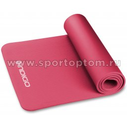Коврик для йоги и фитнеса INDIGO NBR IN194 173*61*1,5 см Бордовый