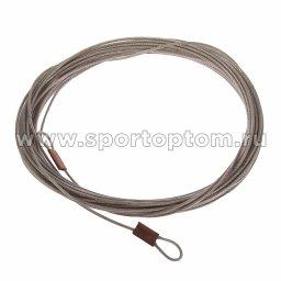 Трос к сетке большого тенниса в оплетке (3 мм)