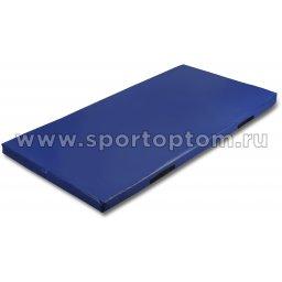 Мат гимнастический SM SM-109 1*2*0,08 м Синий