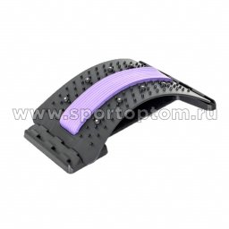 Массажер Платформа для спины YJ-TYQ Фиолетово-черный