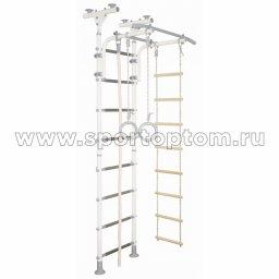ДСК Юный АТЛЕТ пол-потолок А2.3-Р 2450-2900*800*600мм Бело-серый