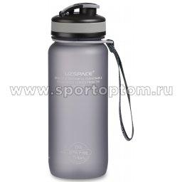 Бутылка для воды с сеточкой и мерной шкалой UZSPACE тритан 3030 Серый