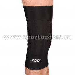 Наколенник волейбольный усиленный INDIGO IN198 Черный