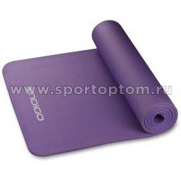 Коврик для йоги и фитнеса INDIGO NBR IN194 173*61*1,5 см Сиреневый