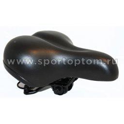 Вело Седло комфорт с пружинами VS 188-01 250*195 мм Черный