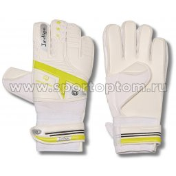 Перчатки вратарские INDIGO  200007 5 Бело-желтый