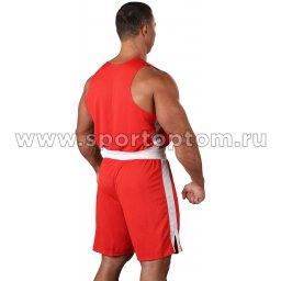 Форма боксёрская RSC со вставками BF BX 09 Красный (2)
