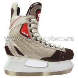 Коньки хоккейные LARSEN TITAN H22                       39 Серый