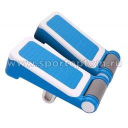 Доска для растяжки ног PRO-SUPRA двойная  7310 Бело-Голубой