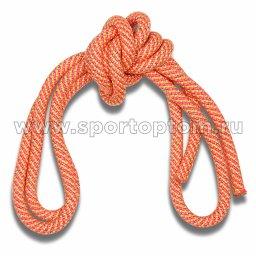 Скакалка гимнастическая (веревочная) Утяжеленная INDIGO ЛЮРЕКС (4)