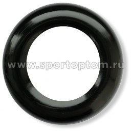 Эспандер кистевой кольцо малое 40 кг SS-20 7,5 см Черный