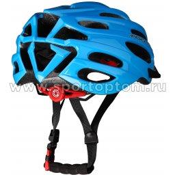 Вело Шлем взрослый INDIGO, 22 вент. отверстий IN070 Синий (2)