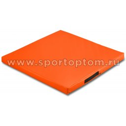 Мат гимнастический SM SM-107 1*1*0.08 м  Оранжевый