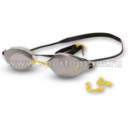 Очки для плавания BARRACUDA LIQUID SURGE сменная переносица 73410  Серо-желтый