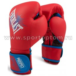 Перчатки боксёрские детские EVERLAST PROSPECT PU  P00001644 Красный