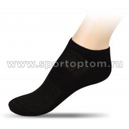 Носки спортивные укороченные хлопок ЛВ18 Черный
