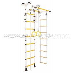 ДСК Юный АТЛЕТ пол-потолок А5.3-Р 2450-2900*800*600мм Бело-желтый