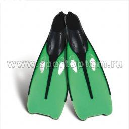 Ласты пластиковые с резиновыми вставками F-6849                    44-45 (XXXL)