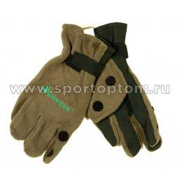 Перчатки Флис с неопреном GLS-NFOP-XXL, 3 откидных пальца 095-6 TR