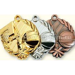 Медали INDIGO Баскетбол d48мм к-т 3шт: золото,серебро,бронза 480008 ZS                 48 мм