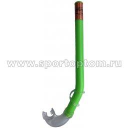 Трубка для плавания детская (с загубником, маскодержатель) 3102 (H062) Зеленый