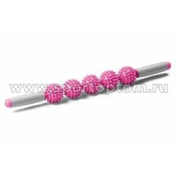 ролик-палка розовый