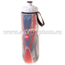 Бутылка для воды Термо  BF-SWB03 710 мл Серебристо-оранжевый