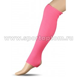 Гетры для гимнастики и танцев Шерсть СН1 40 см Розовый