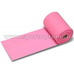 Эспандер ленточный  INDIGO LIGHT (ТПЭ) 6003-1 HKRB 25м*15см*0,35мм Розовый