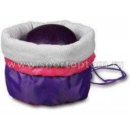 Чехол для мяча гимнастического утепленный INDIGO SM-335 34*24 см Фиолетовый