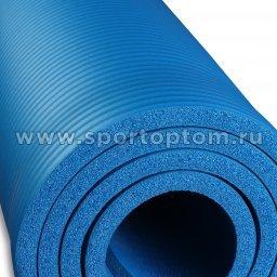 Коврик для йоги и фитнеса INDIGO NBR IN104 Синий (5)