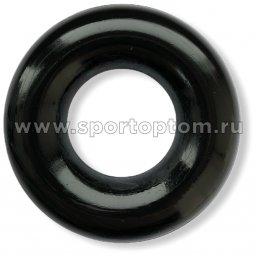 Эспандер кистевой кольцо большое 70 кг SS-45 8 см Черный