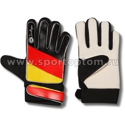 Перчатки вратарские INDIGO 200023 Черно-красно-желтый
