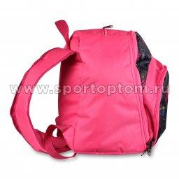 Рюкзак для художественной гимнастики INDIGO Цветы (2)