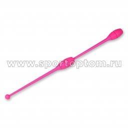Булавы для художественной гимнастики вставляющиеся INDIGO Розовый (2)