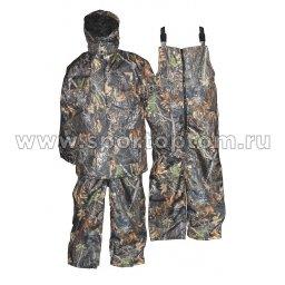 Костюм утепленный Рыбак-2 (куртка+полукомбинезон) SM-277 КМФ
