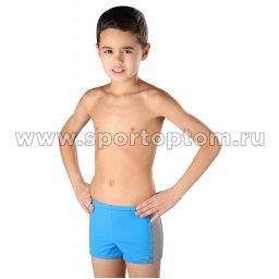 Плавки-шорты детские SHEPA со вставками 015 116 Сине-серый