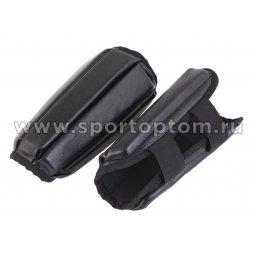 Защита голени SM и/кожа  SM-036 L Черный