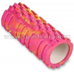 Ролик массажный для йоги INDIGO PVC  IN101 14*33 см Мультицвет