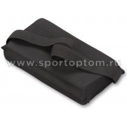 Подушка для растяжки INDIGO  SM-358 24,5*12,5 см Черный