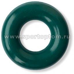 Эспандер кистевой кольцо большое 50 кг SS-35 8 см Зеленый