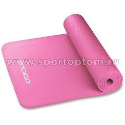 Коврик для йоги и фитнеса INDIGO NBR IN194 173*61*1,5 см Цикламеновый