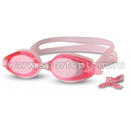 Очки для плавания INDIGO сменная переносица 1205 G Розовый